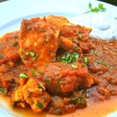 CHICKEN VINDALOO (HOT)