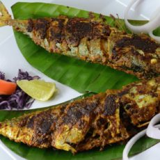 FISH GREEN MASALA